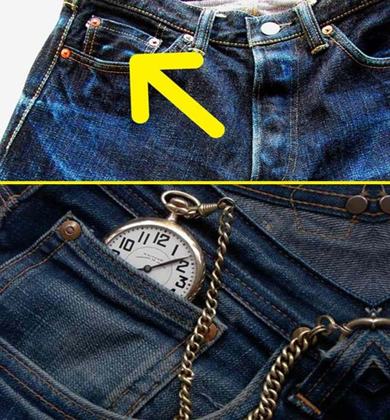 Why does jeans have small pocket