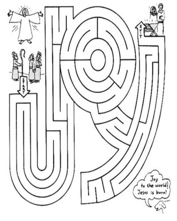 Maze, Christmas word search and Christmas words on Pinterest
