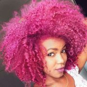 beautiful natural curly afro hair