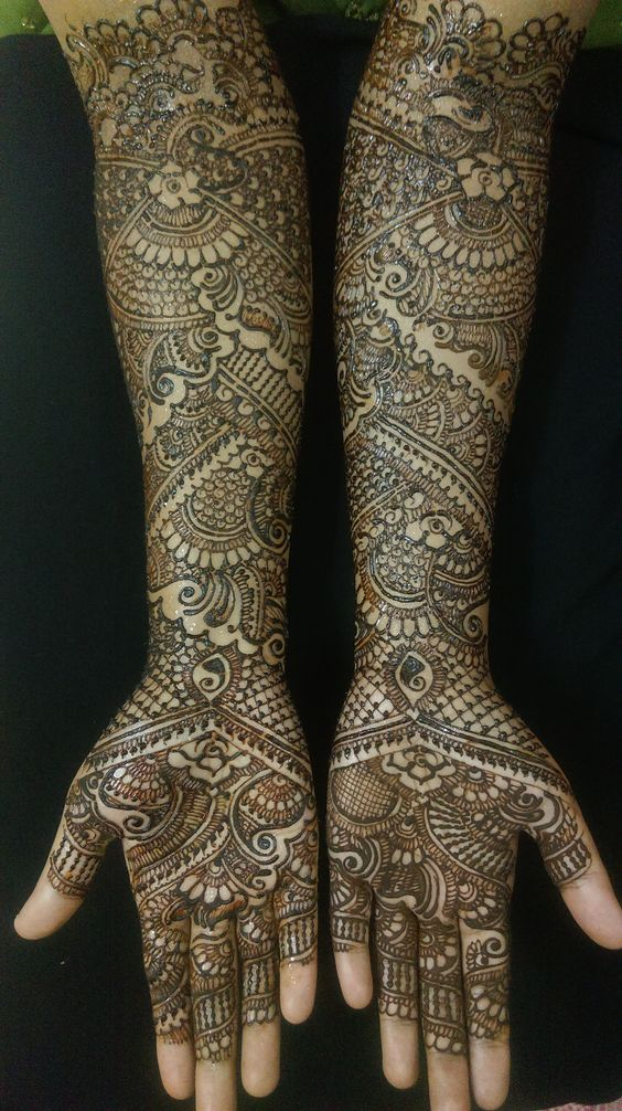 As a finalist in our annual mehndi contest, this super talented artist brings us amazing designs!: