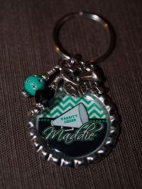 PERSONALIZED Cheer Gift, Cheerleader Key Chain, Cheer ...
