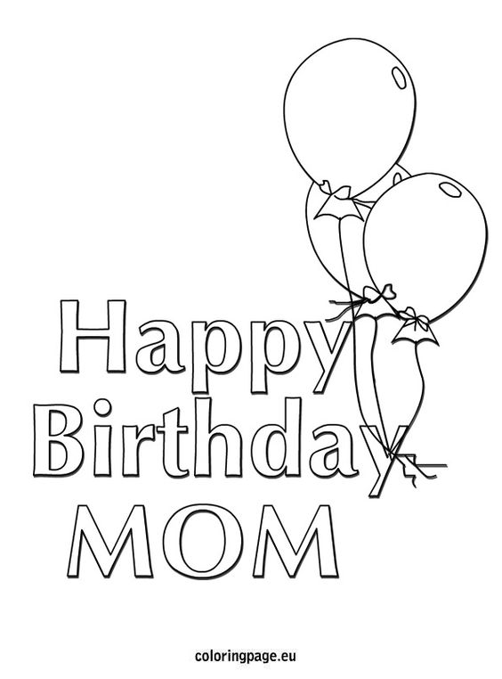Coloring, Coloring pages and Birthdays on Pinterest