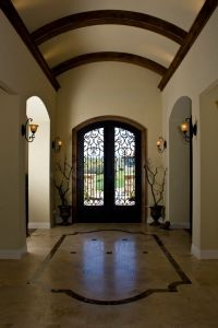 Foyer with barrel ceiling | Details | Pinterest | Foyers ...