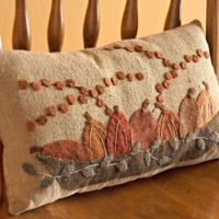 Pumpkin pillows, Pillows and Pumpkins on Pinterest