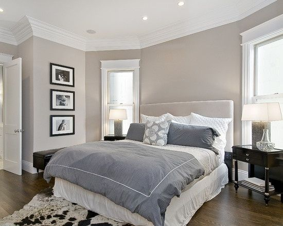 Benjamin Moore Bedroom Paint Colors.Hampshire Taupe Favorite