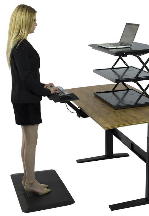 KT2  Adjustable Standing Desk Keyboard Tray  Computer