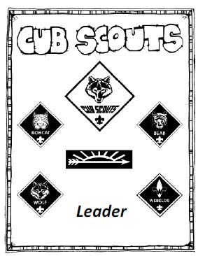 Welcome to Cub Scouts for leaders (booklet)-super helpful