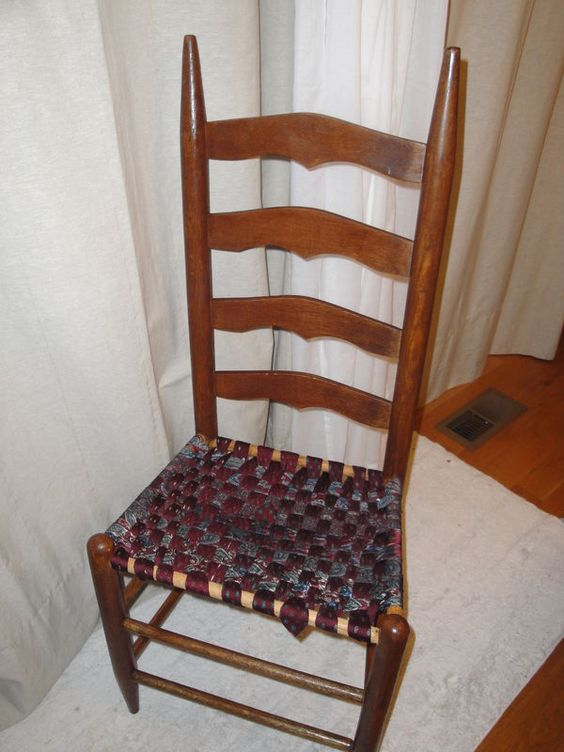 how to recane a chair velvet design quilting, ties and old chairs on pinterest