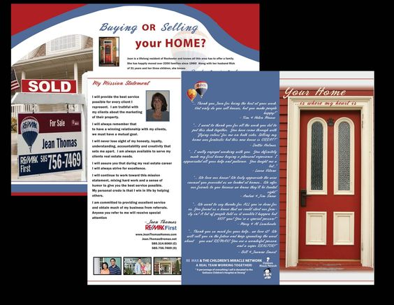 CLIENT Jean Thomas Of Re Max Real Estate EXAMPLES