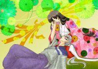 Romantic InuTaisho and Izayoi | Inuyasha | Pinterest ...