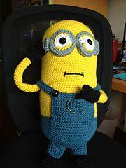 Ravelry: Hugh the Minion: my giant Minion! pattern by ...