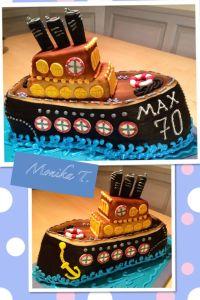 Torte Schiff | Rezepte - Kuchen und Torten | Pinterest | Torte
