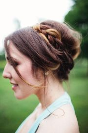 updo cute and wedding