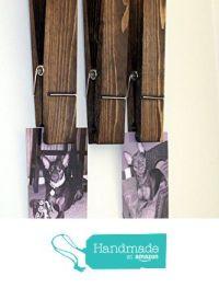 Set Of Three Extra Large Clothespins, Rustic Jumbo 12 ...