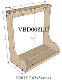 Vertical Wall Gun Racks | furniture ideas | Pinterest ...