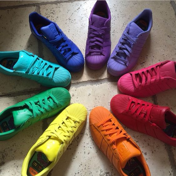 Adidas Supercolour Trainers Sneakers Dope Footwear