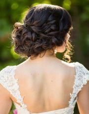 updo wedding and unique