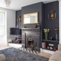Feature walls, Traditional living rooms and Living rooms ...