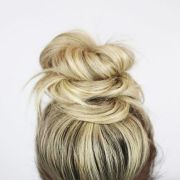 easy hairstyles buns and beach