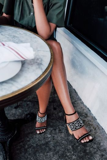 Those heels!: