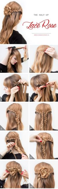 Super Easy DIY Braided Hairstyles for Wedding Tutorials
