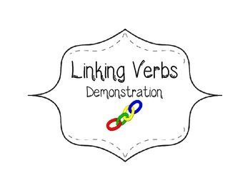 Activities, Student and Linking verbs on Pinterest
