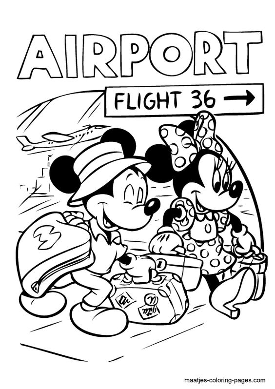 Mickey minnie mouse, Coloring pages and Mice on Pinterest