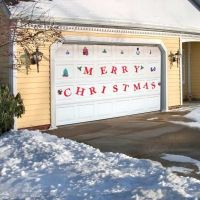 Garage doors, Christmas and Doors on Pinterest