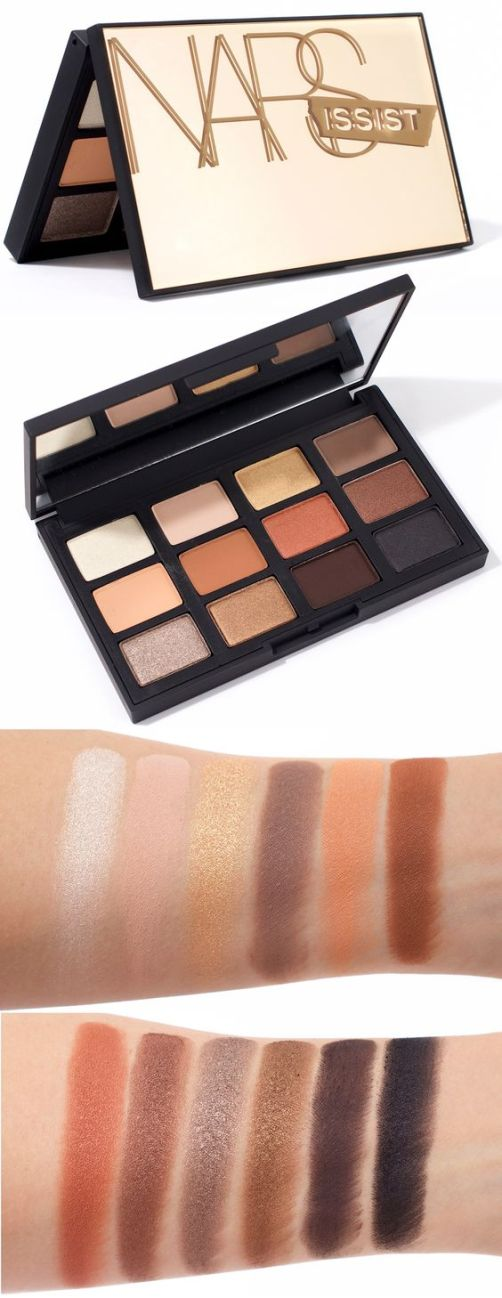 The NARSissist Loaded Eyeshadow Palette is a must have!