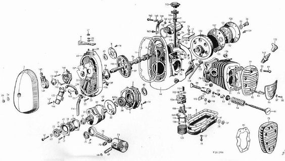 BMW, Engine and Drawings on Pinterest