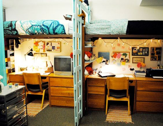college bedroom ideas. Cool Dorm Bunk Bed Ideas 15 College Bedroom Home House