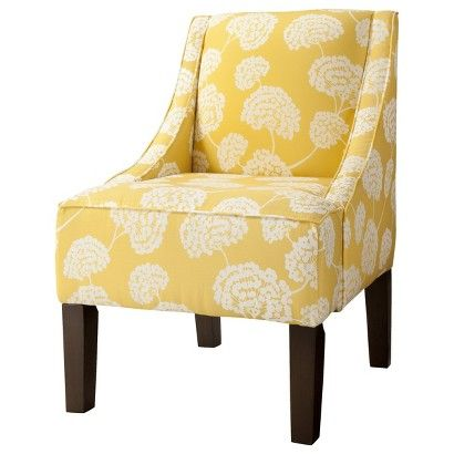 Target  Hudson Upholstered Accent Chair  Botanical