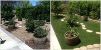 EasyTurf turned this barren backyard into the perfect ...