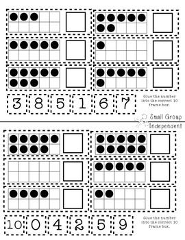 Kindergarten Interactive Math Journal {K.CC.4