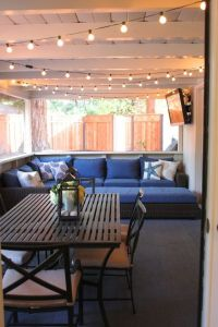 Patio, Lights and String lights on Pinterest