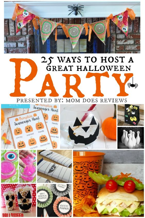 25 Ways to Host a Great Halloween Party; Presented By: Mom Does Reviews: