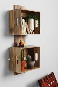 4040 Locust Stacked Crate Wall Shelf | Urban outfitters ...