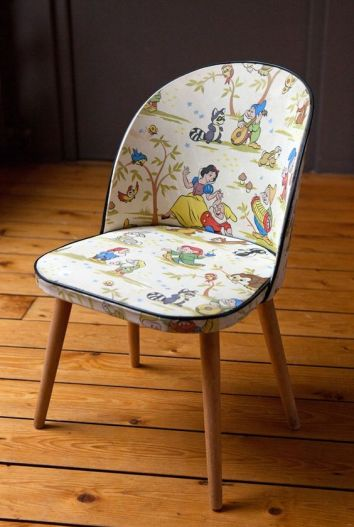Disney Inspired Rooms Decor Snow White and the Seven Dwarfs Chair