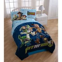 Disney Pixar Toy Story Twin 4-piece Bed in a Bag by Disney ...