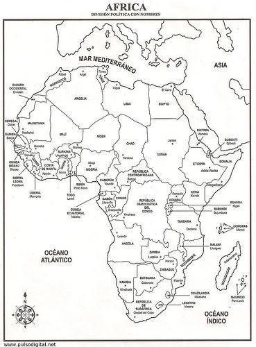 parts of a pumpkin diagram ford ranger wiring stereo mapa de África – división política con nombres | guapos pinterest africa and division