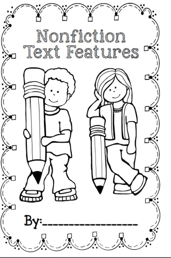 Grab a FREE Nonfiction Text Features booklet in this blog