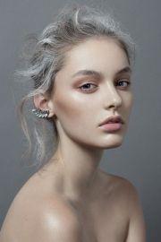 grey makeup inspiration