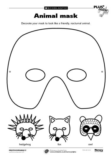 Mask template, Masks and Templates on Pinterest