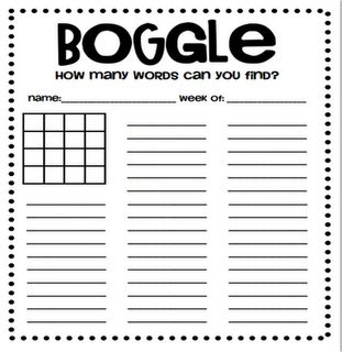 Boggle. The third grade classes loved it...and so did my