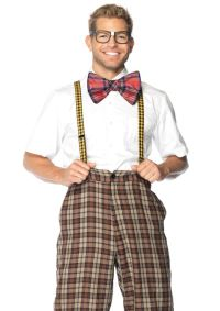 A1930 - Nerd Kit. 3pc nerd kit includes suspenders, bow ...