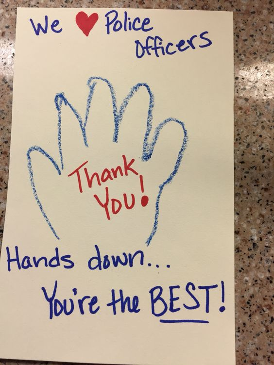 At Your National Night Out Party Get Kids To Write Thank