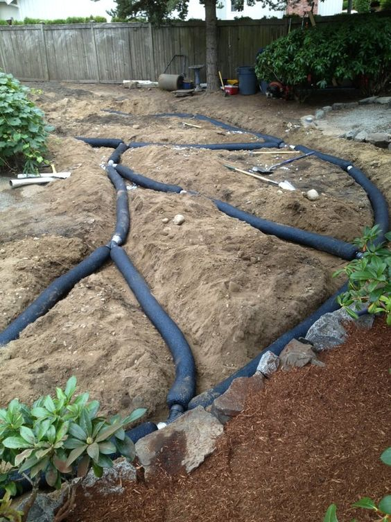 French Drain Install