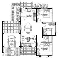 Modern House Design-2012003 | Pinoy ePlans - Modern house ...