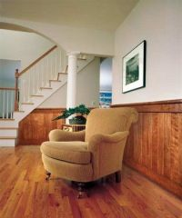 painting wood paneling half wall | For the Home ...