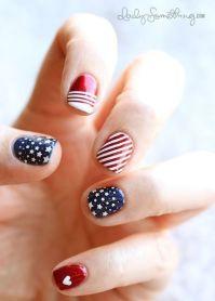 Index finger, Nail design and Polka dots on Pinterest